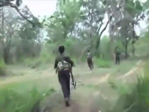 वायरल हो रहे वीडियो पीएलजीए (पीपुल्स लिबरेशन ऑफ गुरिल्ला आर्मी) का बताया जा रहा है।  लगभग 2.17 मिनट के इस वीडियो में नक्सली फायरिंग करते दिख रहे हैं।