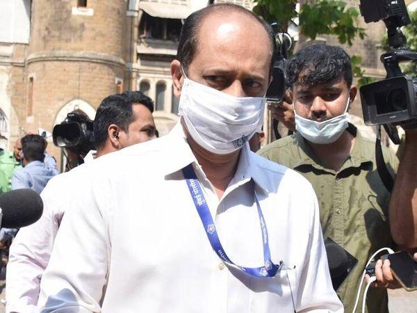 एंटीलिया केस में गिरफ्तार सचिन वझे 7 अप्रैल तक NIA कस्टडी में है। - Dainik Bhaskar