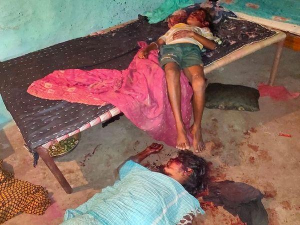 छत्तीसगढ़ के जांजगीर में पड़ोसी ने युवती और उसके 9 साल के भाई की हत्या कर दी। इसके बाद  खुदकुशी कर ली है। - Dainik Bhaskar