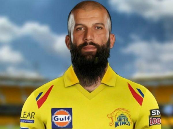 चेन्नई सुपर किंग्स ने इंग्लैंड के ऑलराउंडर मोइन अली को 14वें सीजन की नीलामी में  7 करोड़ में खरीदा। - Dainik Bhaskar