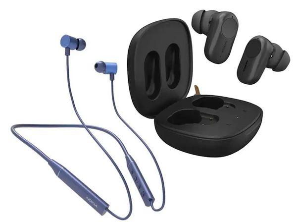 Nokia Bluetooth Headset T2000, True Wireless Earphones ANC T3110 Launched  in India by Flipkart | कंपनी ने भारत में ब्लूटूथ नेकबैंड और ट्रू वायरलेस  स्टीरियो लॉन्च किए, 10 मिनट में 9 घंटे