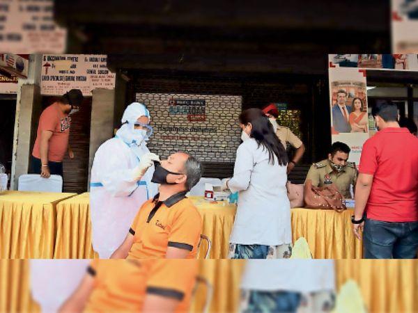 जिले में अब तक 58550 लोग लगवा चुके टीका - Dainik Bhaskar