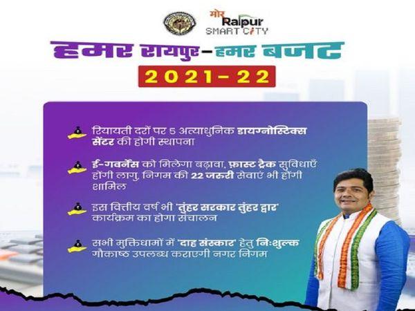 महापौर ने बताया कि इस वर्ष शहर में पानी और मच्छर की समस्या पर विशेष काम होगा।