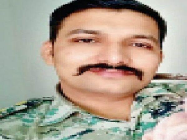 आरोपी एसआई। - Dainik Bhaskar