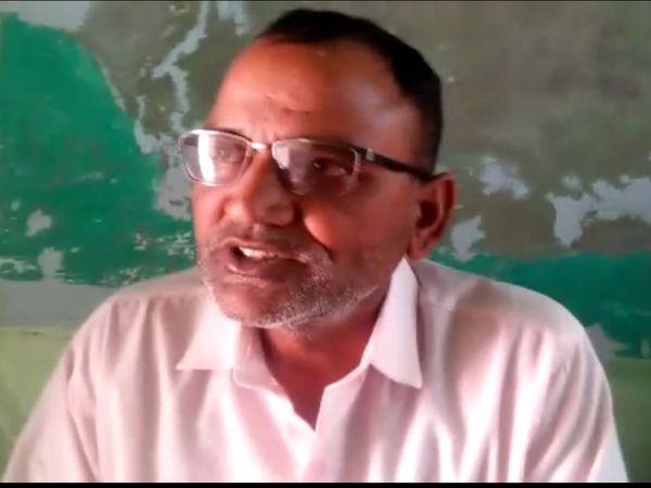 पीड़ित मांगीलाल मेघवाल - Dainik Bhaskar