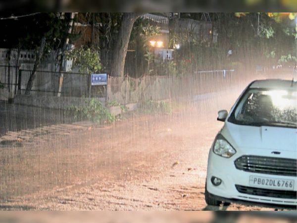 मंगलवार को 0.3 एमएम बारिश - Dainik Bhaskar