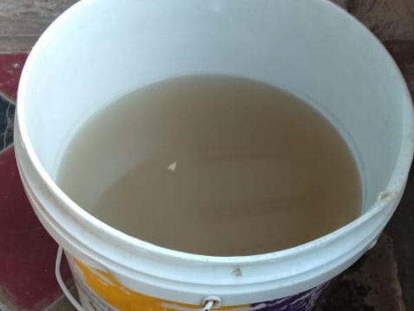 घरों में गंदा और बदबूदार पानी पहुंच रहा है। - Dainik Bhaskar