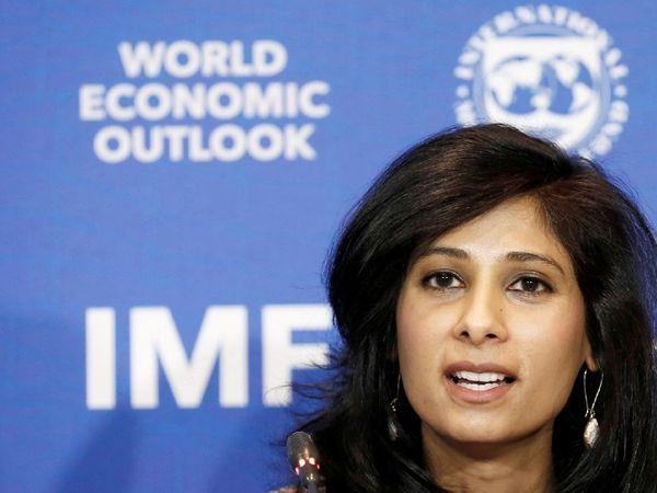 IMF की चीफ इकोनॉमिस्ट गीता गोपीनाथ - Dainik Bhaskar