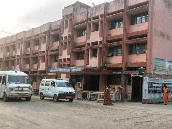 भागलपुर का मायागंज अस्पताल। - Dainik Bhaskar