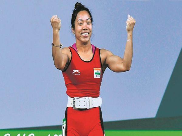 वेटलिफ्टिर मीराबाई चानू टोक्यो ओलिंपिक के लिए क्वॉलिफाई कर चुकी हैं। - Dainik Bhaskar