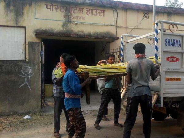 पुलिस ने आत्महत्या का मामला दर्ज कर शव को परिजनों के हवाले कर दिया। - Dainik Bhaskar