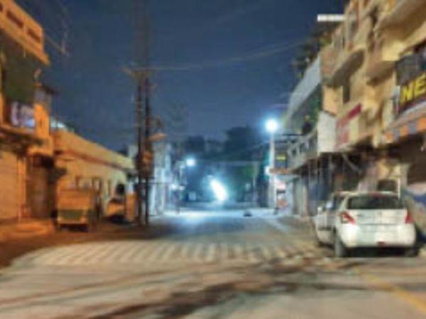नंदानगर के कुछ क्षेत्र बुधवार से माइक्रो कंटेनमेंट होंगे। - Dainik Bhaskar
