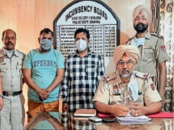 पुलिस ने आरोपी को गिरफ्तार कर न्यायालय में पेश किया। - Dainik Bhaskar