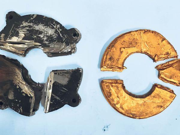 चौथी बार है जब दुबई से तस्कर इलेक्ट्रानिक उपकरण में सोना लाया था - Dainik Bhaskar