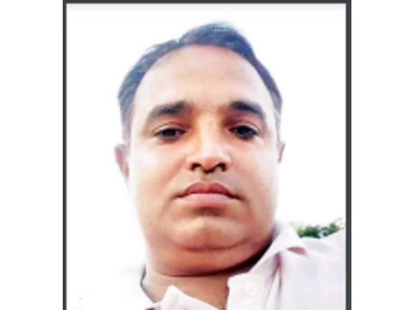 मृतक मुकेश डागर - Dainik Bhaskar