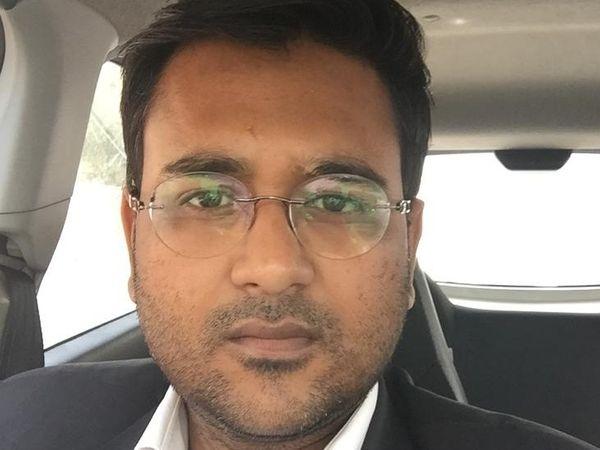 जयपुर हाईकोर्ट में जिया के वकील अंकित गर्ग।