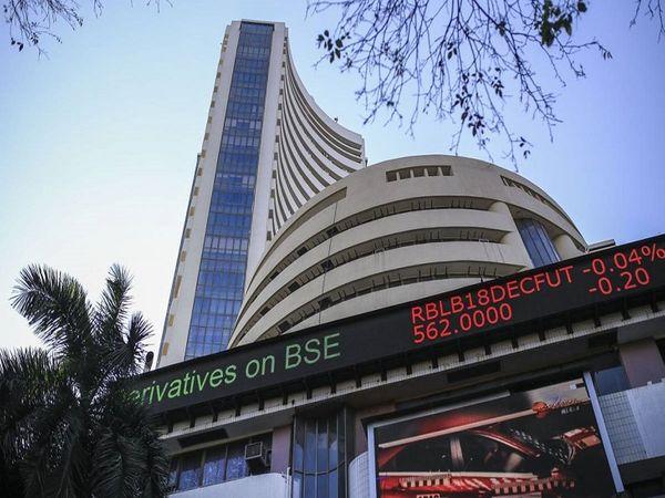 BSE पर 2,098 शेयरों में कारोबार हो रहा है। 1,533 शेयरों में बढ़त और 474 में गिरावट है।   - फाइल फोटो - Dainik Bhaskar