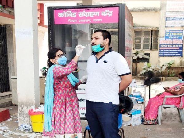 पटना में 2562 एक्टिव केस हैं। - Dainik Bhaskar