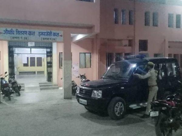 ललितपुर पुलिस ने पीड़िता का मेडिकल कराया। - Dainik Bhaskar