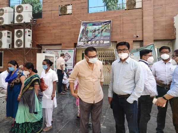 PMCH पटना में बढ़ने लगे कोरोना मरीज। - Dainik Bhaskar
