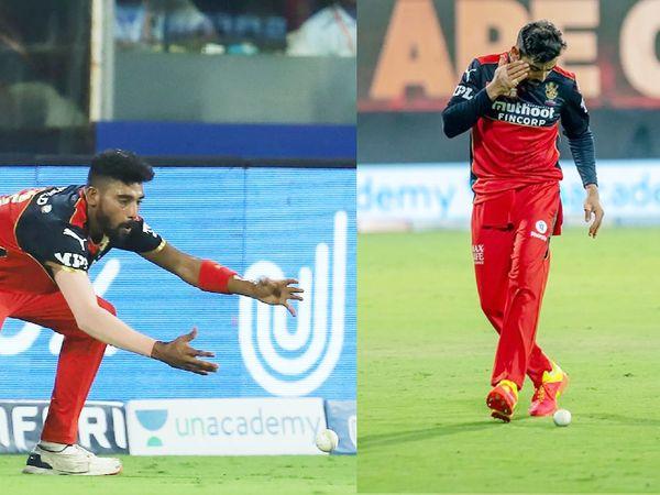 RCB ने इस मैच में कुल 4 कैच छोड़े। मोहम्मद सिराज और कोहली ने भी 1-1 कैच छोड़ा।