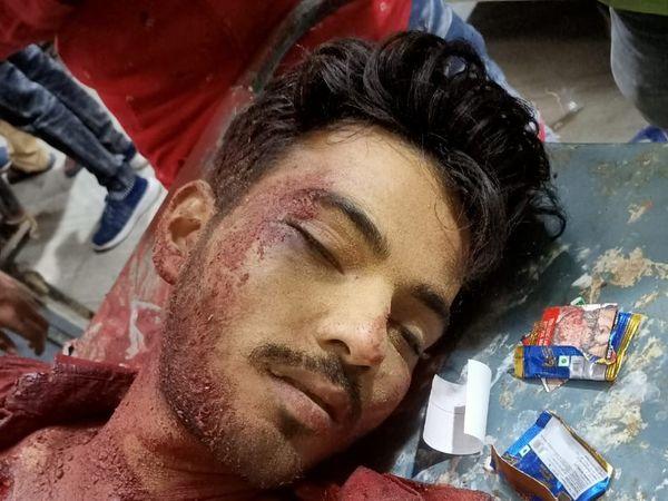 बीकानेर निवासी इस युवक की गुरुवार को हत्या कर दी गई। - Dainik Bhaskar