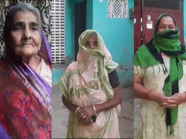 तीनों महिलाओं के परिजनों ने सामुदायिक स्वास्थ्य केंद्र पर हंगामा किया। - Dainik Bhaskar