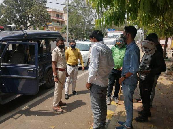 लॉकडाउन में रहेंगी सख्त पाबंद� - Dainik Bhaskar