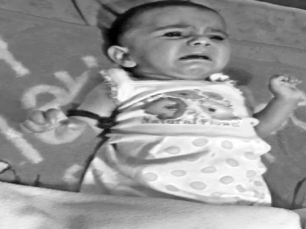 कोरोना संक्रमित आदीबा (8 माह) ने गुरुवार को भोपाल एम्स में दम तोड़ दिया।