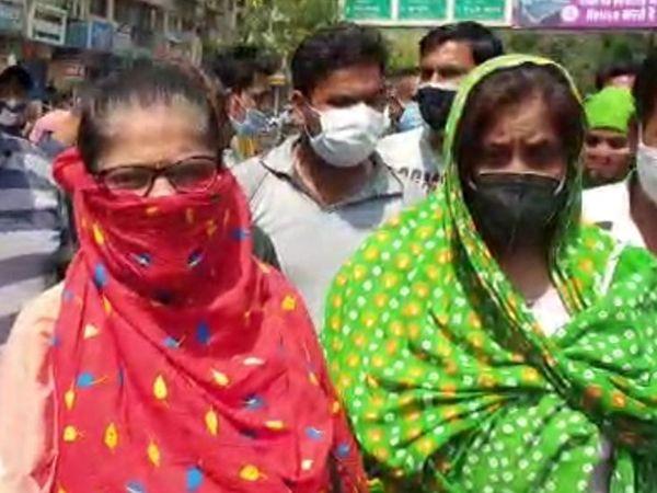 करुणा रघुवंशी पिछले तीन दिनों से इंजेक्शन के लिए दवा बाजार में भटक रही हैं।