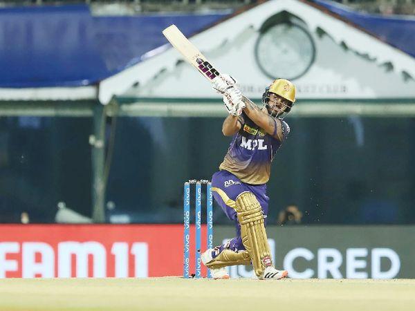 ओपनर राणा ने 56 बॉल पर 80 रन की पारी खेली।
