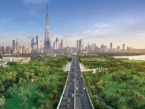 2040 तक ऐसा दिखेगा दुबई। - Dainik Bhaskar