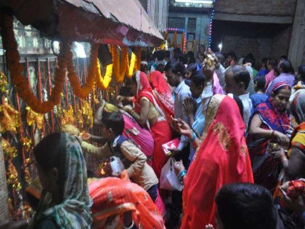 यूपी के अयोध्या में नवरात्र के - Dainik Bhaskar