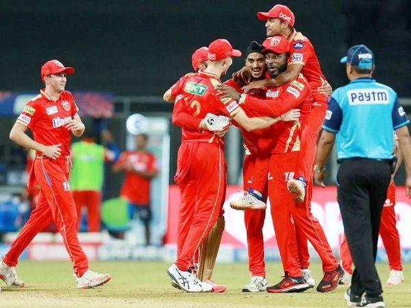 पंजाब किंग्स ने आखिरी बॉल पर राजस्थान टीम को 4 रन से शिकस्त दी।
