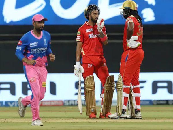 IPL 2021 में पंजाब की नई जर्सी बेंगलुरु की पुरानी जर्सी से काफी मिलती-जुलती है। इसलिए युजवेंद्र चहल ने दोनों को ट्रोल किया। राहुल और गेल पहले RCB का हिस्सा भी रह चुके हैं। - Dainik Bhaskar