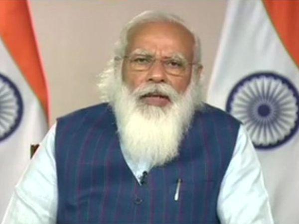 प्रधानमंत्री नरेंद्र मोदी ने कोरोना महामारी से बनी स्थिति को लेकर राज्यपाल और उपराज्यपालों से चर्चा की। - Dainik Bhaskar