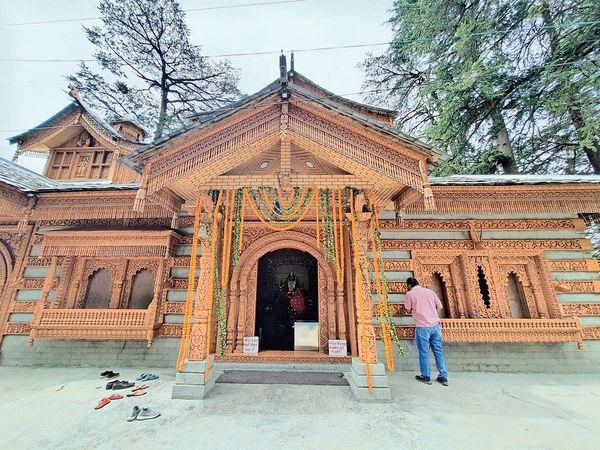 तारादेवी मंदिर। - Dainik Bhaskar