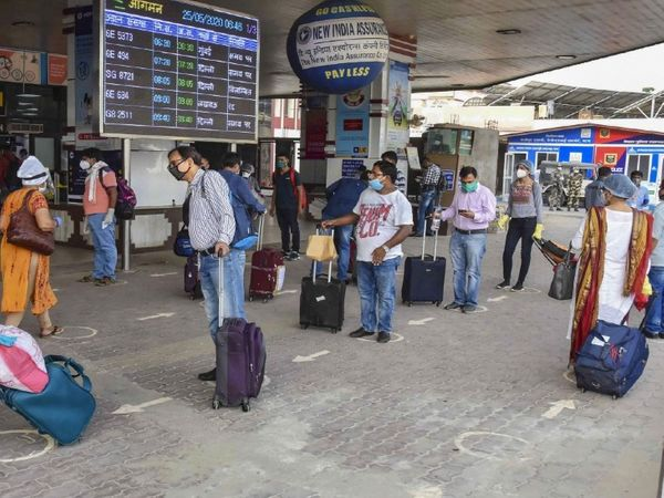 पटना एयरपोर्ट। - Dainik Bhaskar