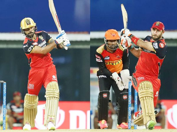 RCB के लिए विराट कोहली और ग्लेन मैक्सवेल ने अहम पारी खेली। विराट ने 29 गेंद पर 33 रन और मैक्सवेल ने 41 बॉल पर 59 रन बनाए। इसी की बदौलत बेंगलुरु टीम अच्छे टोटल तक पहुंच सकी।