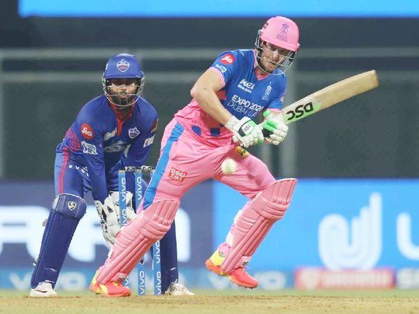 राजस्थान की पारी को डेविड मिलर ने संभाला। उन्होंने 43 बॉल पर 62 रन की पारी खेली।