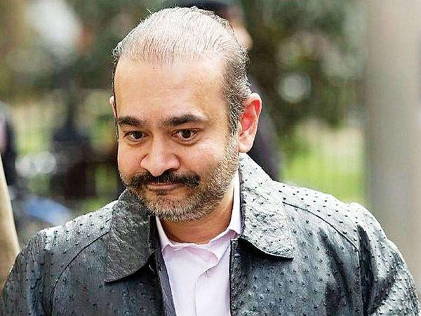 नीरव मोदी पर PNB से करीब 14 हजार करोड़ रुपए की धोखाधड़ी का आरोप है। वह जनवरी 2018 में देश छोड़कर फरार हो गया था। (फाइल फोटो) - Dainik Bhaskar
