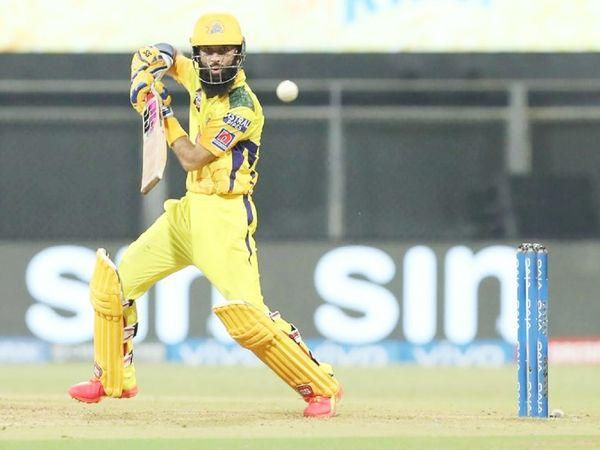 चेन्नई के लिए मोइन अली ने 31 बॉल पर सबसे ज्यादा 46 रन की पारी खेली।