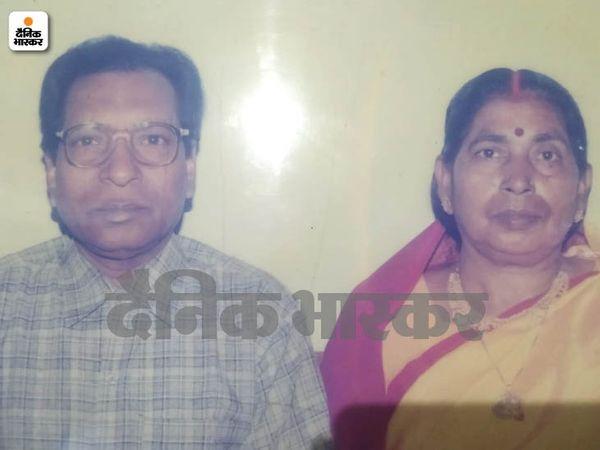 पत्नी चिंतामणी के साथ राजेंद्र प्रसाद की फाइल फोटो।