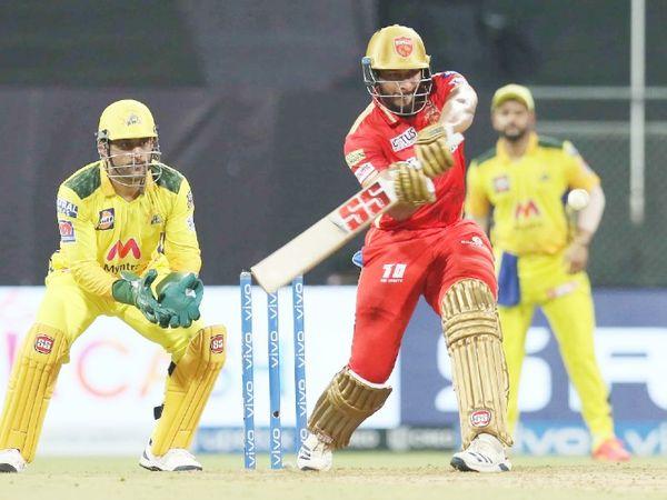 26 रन पर 5 विकेट के बाद शाहरुख खान ने पंजाब किंग्स की पारी को संभाला। उन्होंने 36 बॉल पर 47 रन की पारी खेली और टीम का स्कोर 100 के पार पहुंचाया।
