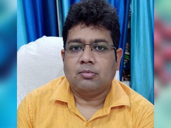 कोरोना से BDO राहुल चंद्रा की मौत। - Dainik Bhaskar