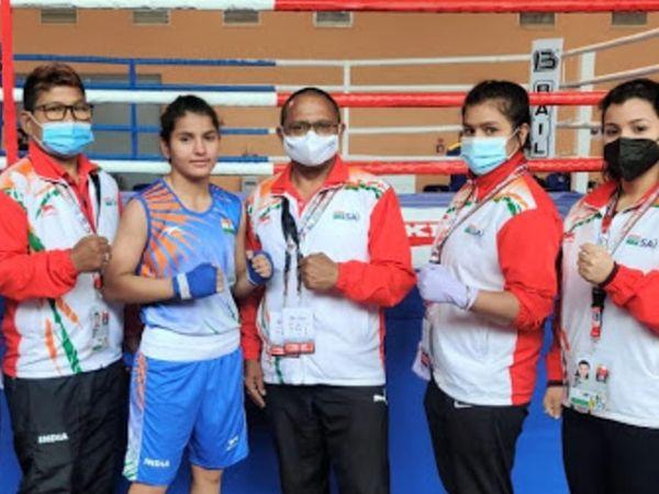 यूथ वर्ल्ड बॉक्सिंग चैम्पियन� - Dainik Bhaskar