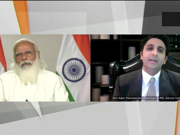 मीटिंग में सीरम इंस्टीट्यूट ऑफ इंडिया के अदार पूनावाला समेत सभी बड़ी कंपनियों के प्रतिनिधि शामिल हैं। - Dainik Bhaskar