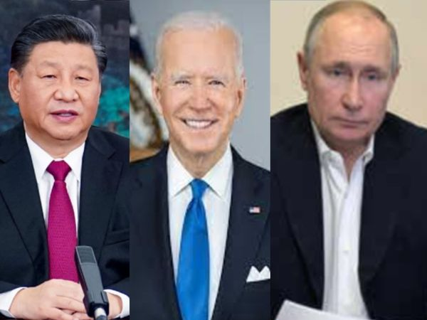 यह पहला मौका है जब बाइडेन के राष्ट्रपति बनने के बाद रूस और चीन के राष्ट्रपति भी एक ही मंच पर मौजूद रहेंगे। (फाइल फोटो) - Dainik Bhaskar