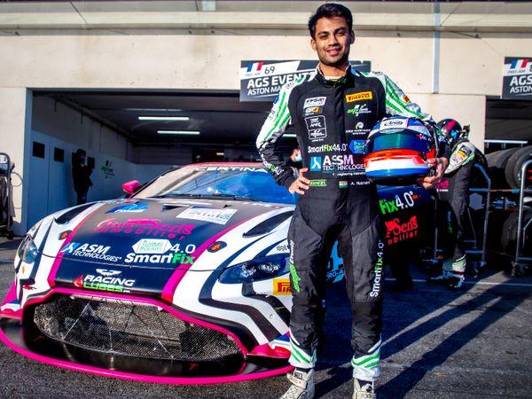 यूरोपियन GT-4 चैम्पियनशिप में एशिया के इकलौते रेसर अखिल रबिंद्र। - Dainik Bhaskar