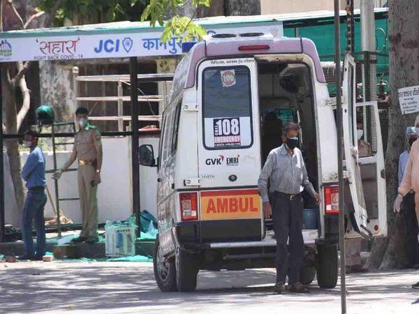 CMO जज को कोविड प्राइवेट हॉस्पिटल नारायणा में भर्ती कराने के लिए गए थे, लेकिन मैनेजमेंट ने उनके साथ भी बदसलूकी की। - Dainik Bhaskar